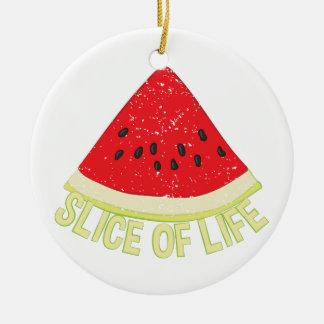 Scheibe des Lebens Keramik Ornament