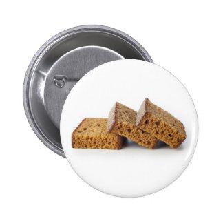 Scheiben des Frühstücks-Kuchen-Knopfes Runder Button 5,7 Cm