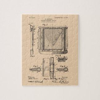 Scheibenwischer, Mary Anderson, Erfinder Puzzle