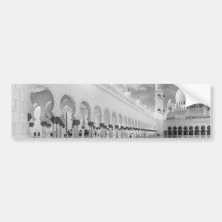 Scheich Zayed Mosque Autoaufkleber