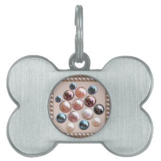 Schein-Perlen-Juwelen Tiermarke