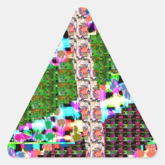 SCHEIN-Werbegeschenk RÜCKKEHR-GESCHENKE für MAMMEN Dreieckiger Aufkleber