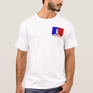 Scheinfronten-Rückseiten-Entwurf des T-Shirt