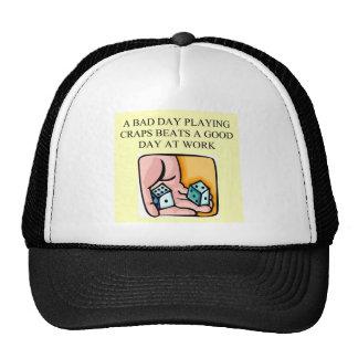 scheißt tireurkasinospieler baseball cap