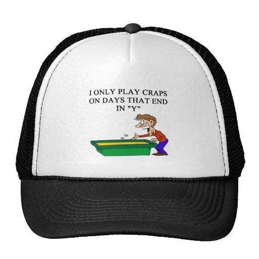 scheißt tireurkasinospieler trucker cap