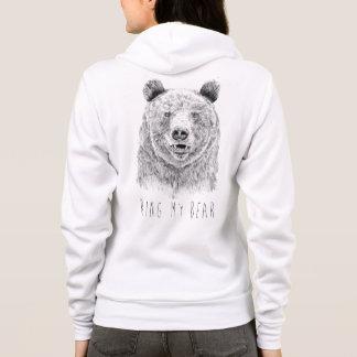 Schellen Sie meinen Bären (bw) Hoodie