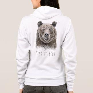 Schellen Sie meinen Bären Hoodie