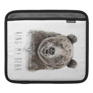 Schellen Sie meinen Bären iPad Sleeve