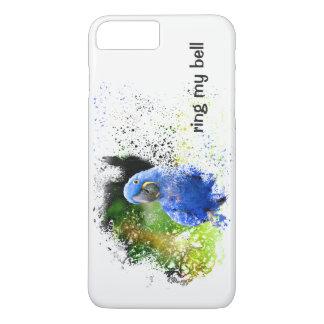 SCHELLEN Sie MEINEN GLOCKE blauen iPhone 8 Plus/7 Plus Hülle