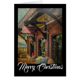Schenkungssteuer-Weihnachten Notecard Karte