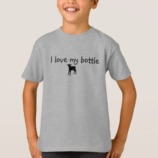 """Scherzen Sie Shirt """"ich Liebe mein Flaschenkalb """""""