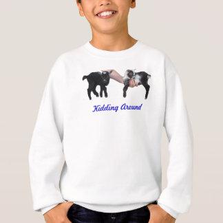 Scherzen um Jugend-Sweatshirt Sweatshirt