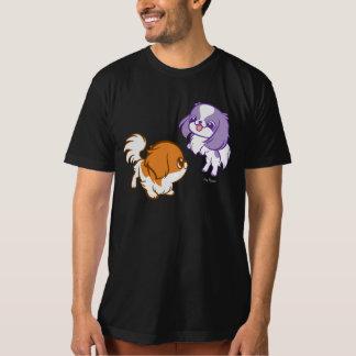 Scherzender Kawaii Welpen-Japaner Chin T-Shirt