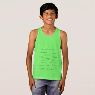 SCHERZT bella Leinwand Jersey-Behälter-T - Shirt