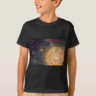 Scherzt dunkle T, hohe Grenzbesiedlung T-Shirt