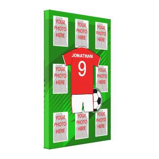 Scherzt Fußball Schlafzimmer-Sammlung 1 Leinwanddruck
