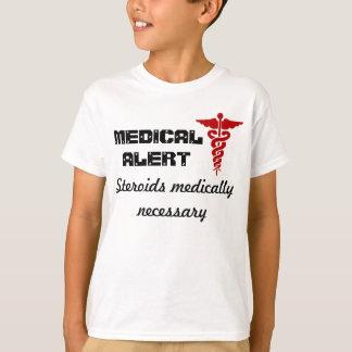 Scherzt medizinisches wachsames Shirt