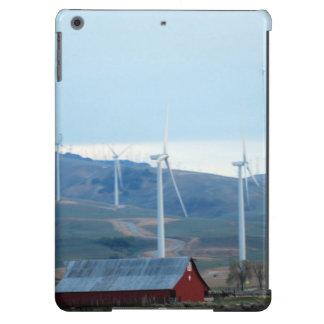 Scheune und Windmühlen iPad Air Hülle
