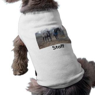 Scheunen-Bauernhof-Pferde T-Shirt