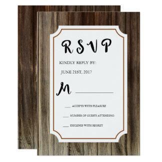 Holzerne Hochzeit Der Rustikalen Scheune Einladungen Zazzle De
