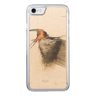 Scheunen-Schwalbe Audubon Platten-173 Carved iPhone 8/7 Hülle