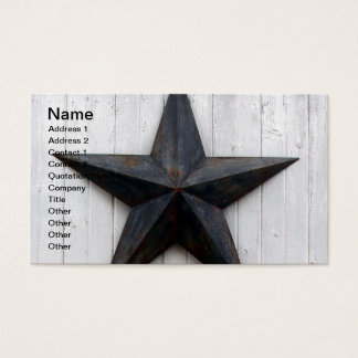 Scheunen-Stern Visitenkarte