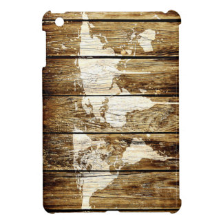 Scheunen-Weltkarte 2 iPad Mini Cover