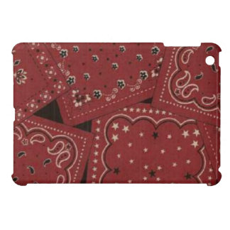Scheunerotes Bandana iPad mini glatter Endfall iPad Mini Cover