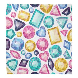 Schicke Girly glänzende Diamant-Edelsteine Halstuch