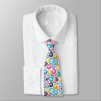 Schicke Girly glänzende Diamant-Edelsteine Krawatte