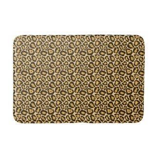 Schicke Leopard-Druck-Bad-Matte Badematte