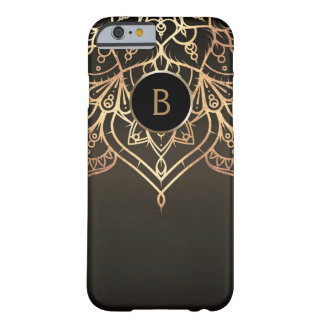Schicke moderne bezaubernde Bronzegewohnheit Barely There iPhone 6 Hülle