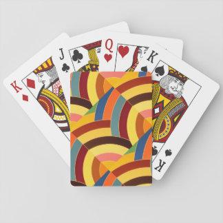 schicke moderne hoch entwickelte Sparren Spielkarten