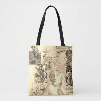 Schicke Retro Collagentasche für Strand oder das Tasche