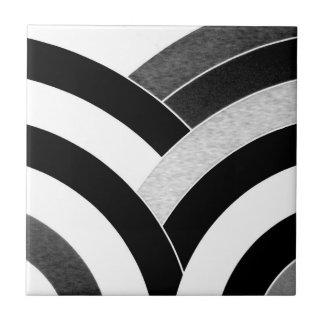 schicke stilvolle hoch entwickelte zeitgenössische keramikfliese
