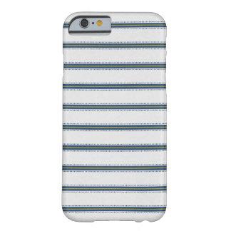Schicker blauer Streifen-Kasten Barely There iPhone 6 Hülle