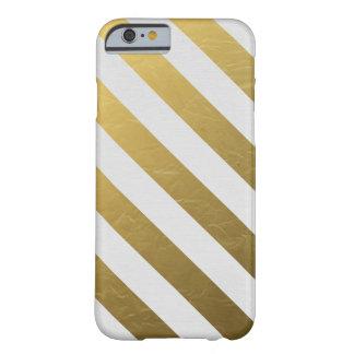 Schicker goldener Stängel-Kasten Barely There iPhone 6 Hülle