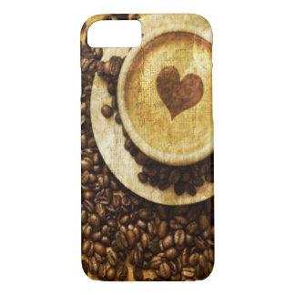 Schicker Java-Cappuccino iPhone 8/7 Hülle