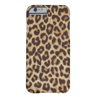 Schicker Leopard iPhone Identifikations-Fall Barely There iPhone 6 Hülle