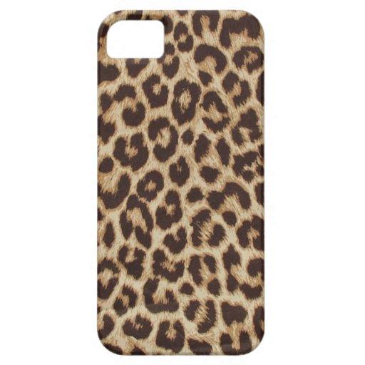 Schicker Leopard iPhone Identifikations-Fall iPhone 5 Schutzhüllen