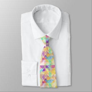 Schickes buntes flippiges Retro Personalisierte Krawatten