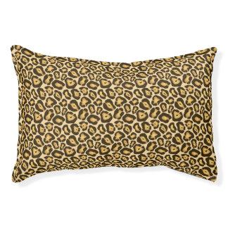 Schickes Leopard-Druck-Muster Haustierbett
