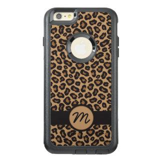 Schickes Leopard-Monogramm OtterBox iPhone 6/6s Plus Hülle