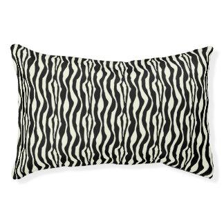 Schickes Zebra-Druck-Muster Haustierbett
