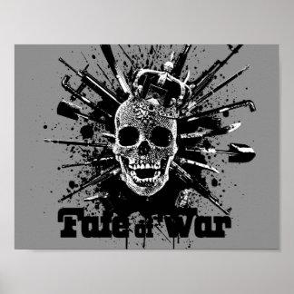 Schicksal des Kriegsplakats Poster