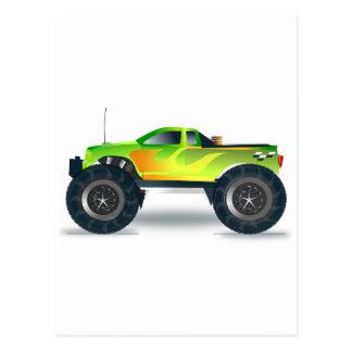 Schicksals-Glückwünsche des LKW-Monster-4x4 ATV Postkarte