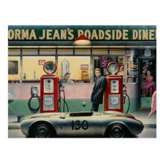 Schicksals-Landstraße Postkarte