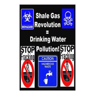 Schiefer-Gas-Revolution = Flyer