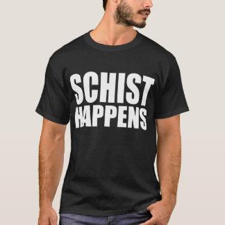 Schiefer geschieht T-Shirt