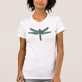 Schiefer-grüne Libelle T-Shirt
